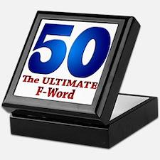 50: The ULTIMATE F-Word Keepsake Box