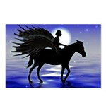 Pegasus Myth inspirational gift Postcards (Package