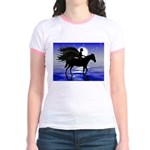 Pegasus Myth inspirational gift Jr. Ringer T-Shirt