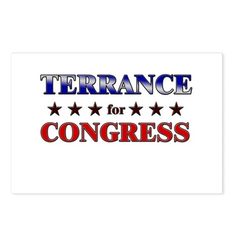 TERRANCE for congress Postcards (Package of 8)