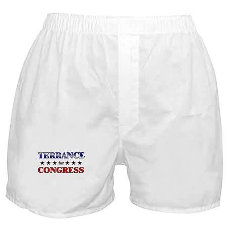 TERRANCE for congress Boxer Shorts