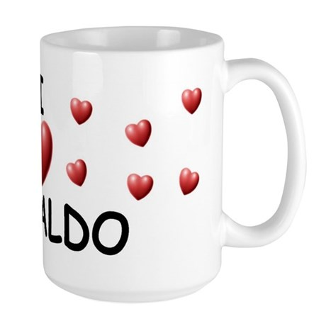 I Love Osvaldo - Large Mug