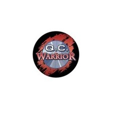 """Q.C. Warrior"" Mini Button"