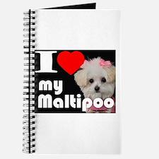NEW I LOVE My Maltipoo Journal