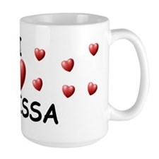 I Love Julissa - Mug