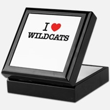 I Love WILDCATS Keepsake Box