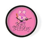 Ball Bunny Wall Clock