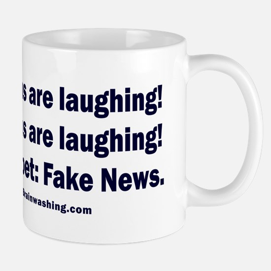 The Russians are laughing! Mug