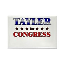 TAYLER for congress Rectangle Magnet