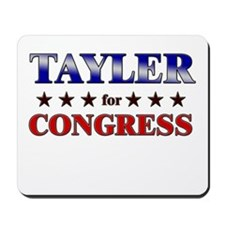 TAYLER for congress Mousepad