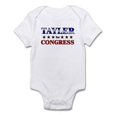 TAYLER for congress Infant Bodysuit