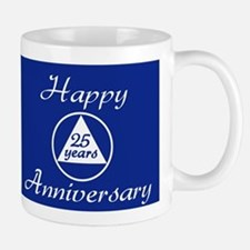 years of gratitude sobriety milestone Small Small Mug