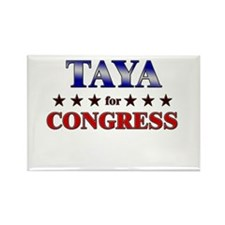 TAYA for congress Rectangle Magnet