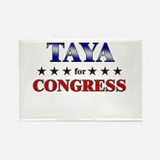 TAYA for congress Rectangle Magnet