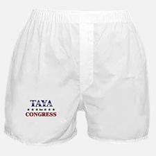 TAYA for congress Boxer Shorts