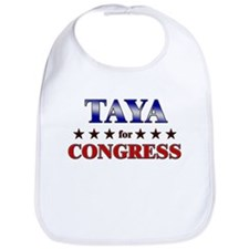 TAYA for congress Bib