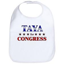 TAYA for congress Bib