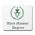 Allied Masonic Degrees AMD Mousepad
