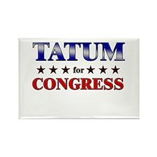 TATUM for congress Rectangle Magnet