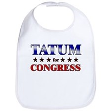 TATUM for congress Bib