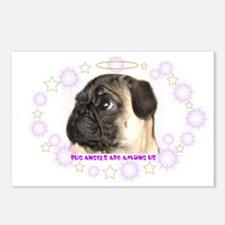 Pug puppy, Postcards (Package of 8)