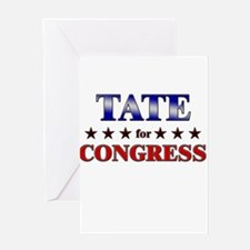TATE for congress Greeting Card