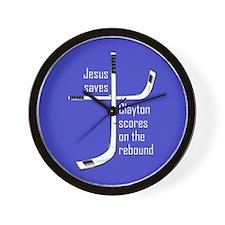 Travis Clayton scores Wall Clock