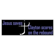 Travis Clayton scores Bumper Bumper Sticker