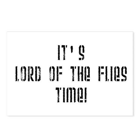 It's Lord Of The Flies Time! Postcards (Package of