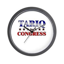 TARIQ for congress Wall Clock