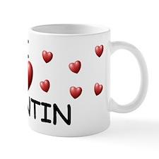 I Love Quintin - Mug