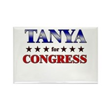 TANYA for congress Rectangle Magnet