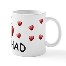 I Love Rashad - Mug