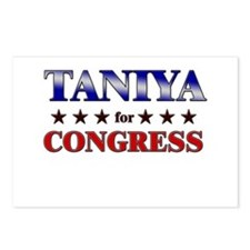 TANIYA for congress Postcards (Package of 8)