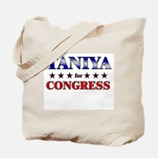 TANIYA for congress Tote Bag