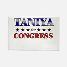 TANIYA for congress Rectangle Magnet