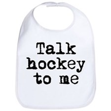 Talk hockey original Bib
