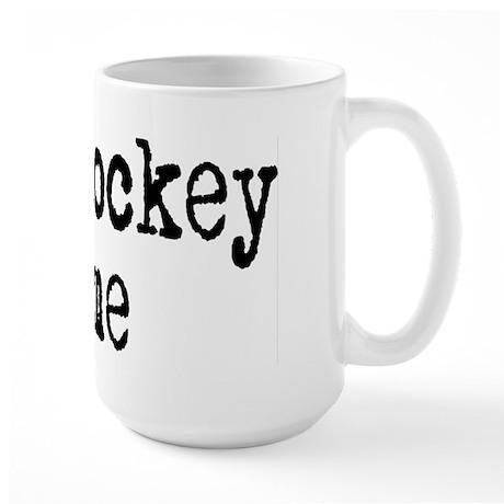 Talk hockey original Large Mug