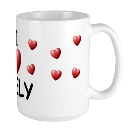 I Love Keely - Large Mug
