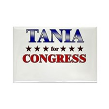 TANIA for congress Rectangle Magnet