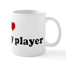I Love my rugby player Mug