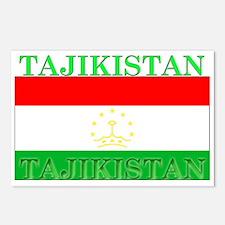 Tajikistan Tajikistani Flag Postcards (Package of