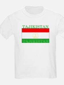 Tajikistan Tajikistani Flag T-Shirt