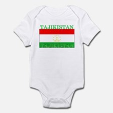 Tajikistan Tajikistani Flag Infant Bodysuit