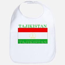Tajikistan Tajikistani Flag Bib