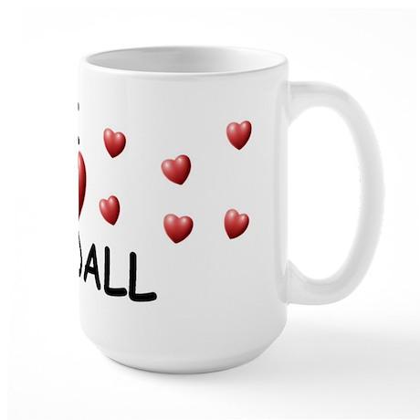 I Love Kendall - Large Mug