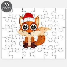 Christmas Fox Puzzle