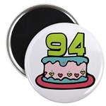 94th Birthday Cake Magnet