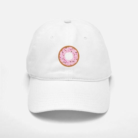 Pink Sprinkles! Baseball Baseball Cap