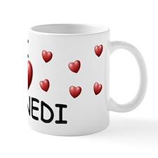 I Love Kennedi - Small Small Mug